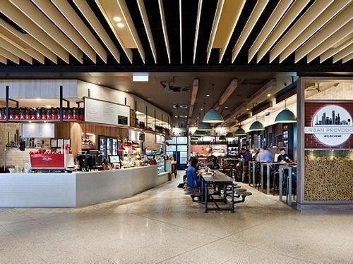 "Melbourne Airport - Restaurant ""The Urban Provodore"""