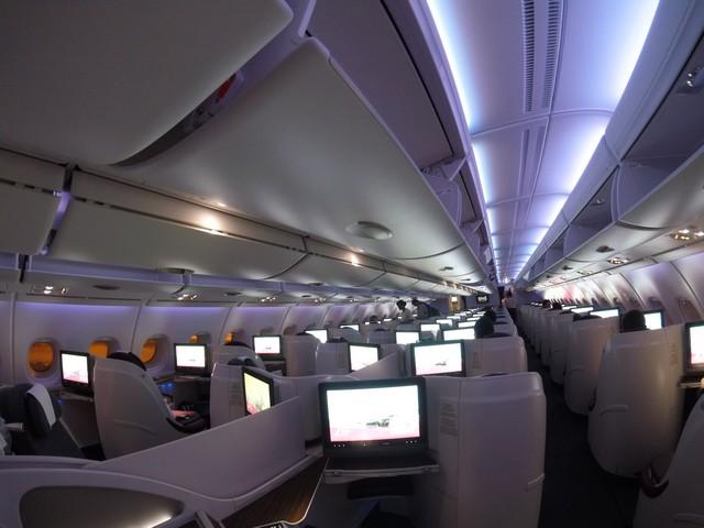 QR Business-Class (Airbus A380-800)