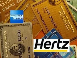 Logo American Express und Hertz
