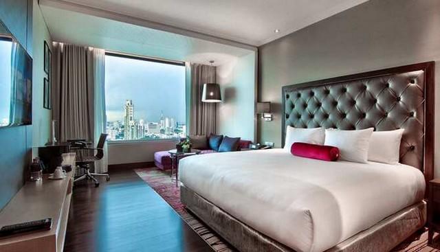 Business-Class Zimmer im Radisson Blu Plaza Bangkok
