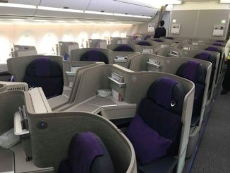 CA Business-Class (Airbus A350-900)