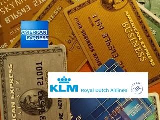 Logo American Express und KLM