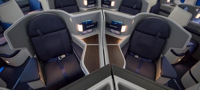 Neue Egyptair Business-Class auf der Langstrecke in der Boeing 787-9