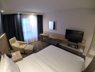 Standardzimmer im Hampton by Hilton Frankfurt Airport