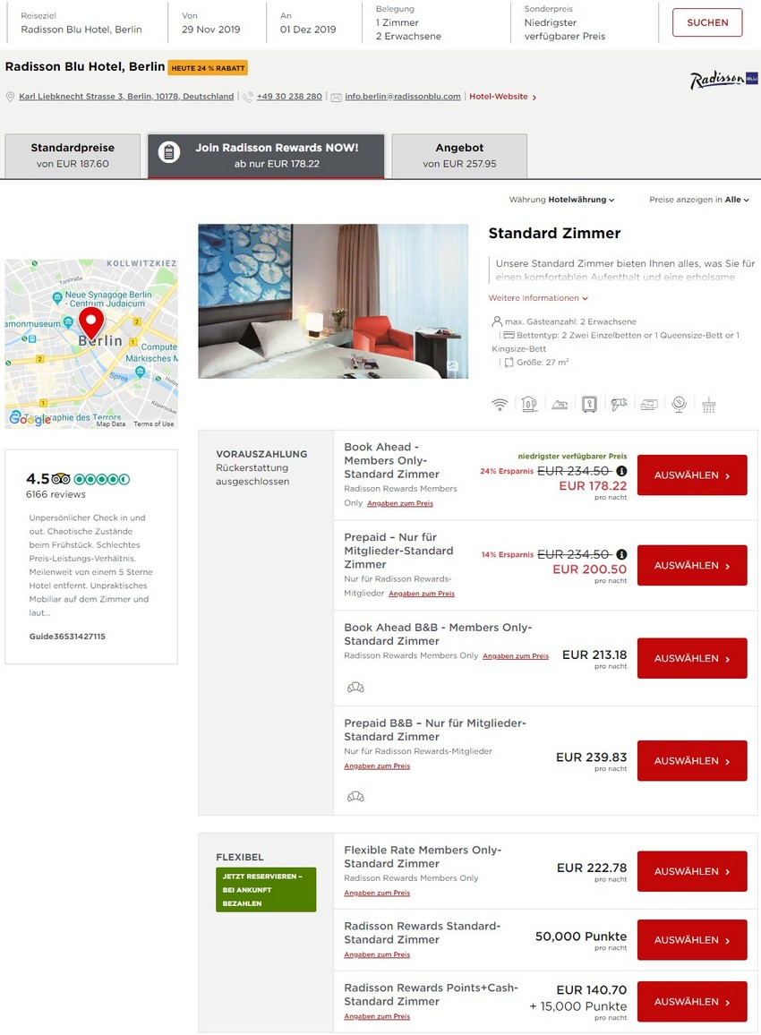 Radisson Look Ahead Book Ahead Raten im Radisson Blu Hotel Berlin