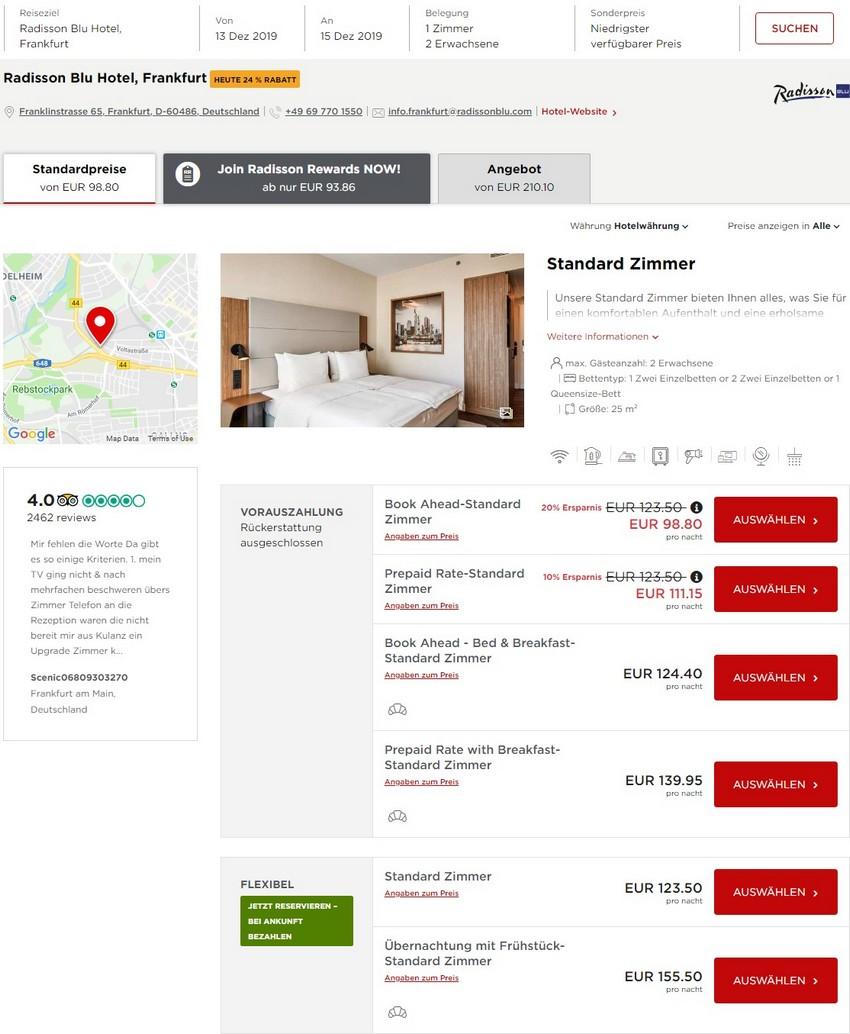 Radisson Look Ahead Book Ahead Raten im Radisson Blu Hotel Frankfurt