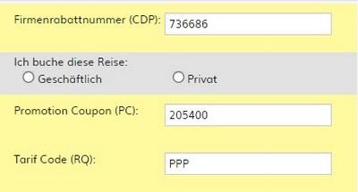 Hertz EuroBonus Ratencode