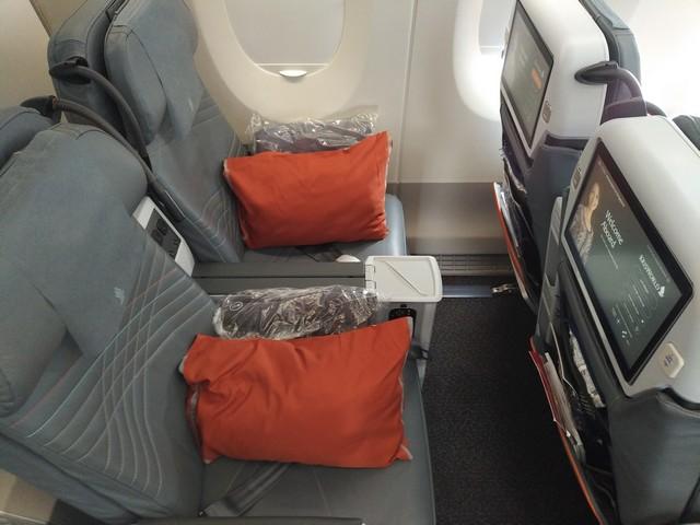 SQ Premium-Economy-Class (Airbus A350-900)