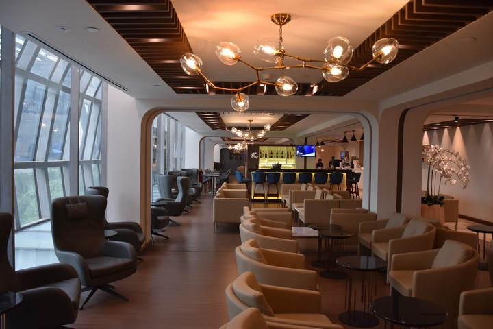 Turkish Airlines Lounge Bangkok Suvarnabhumi