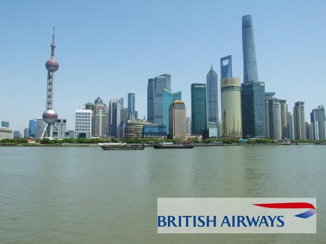 Shanghai mit British Airways - Logo