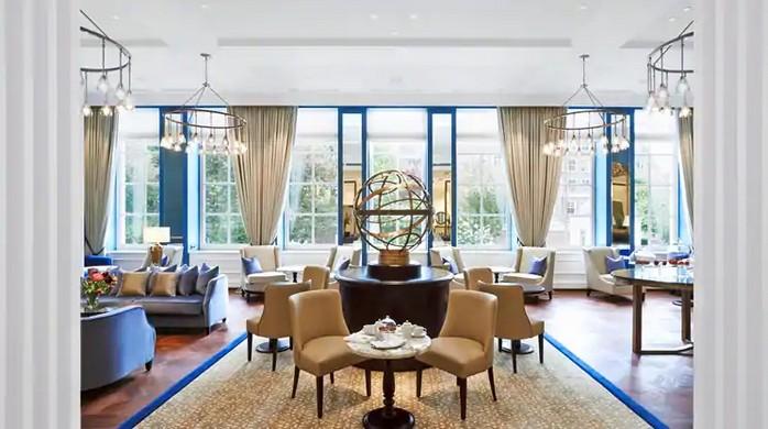 Lobby des Waldorf=Astoria Amsterdam
