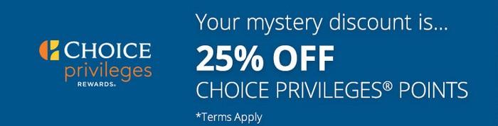 Discount von bis 30% beim Kauf Choice Punkten bis 02.11.2019
