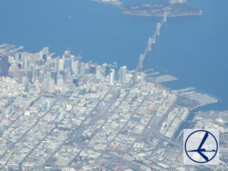 San Francisco mit LOT - Logo