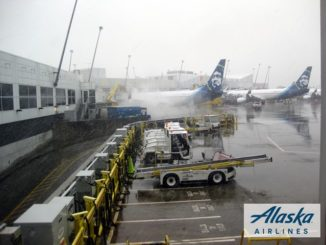 Seattle Airport Alaska Airlines - Logo