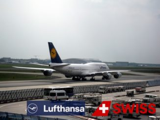 Lufthansa Boeing 747-8i - Logo