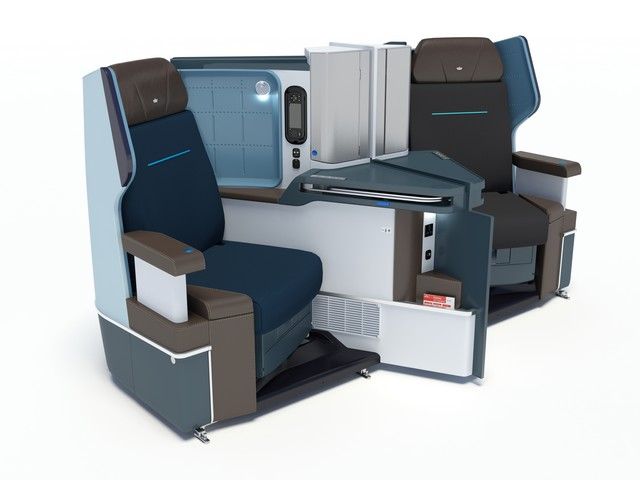 KL Business-Class (Boeing 787-8)