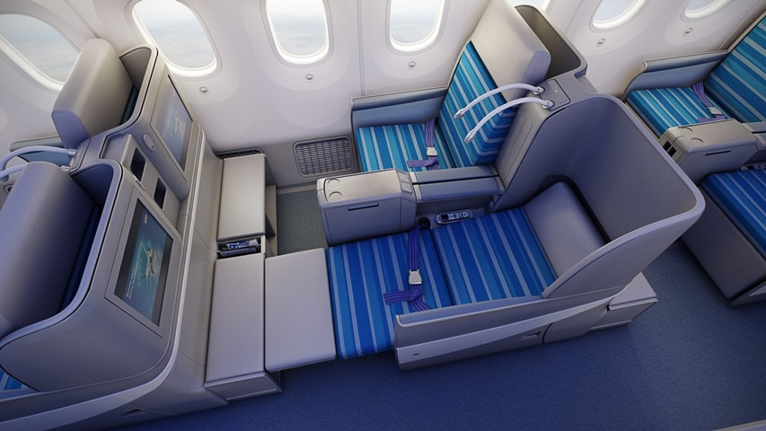 LO Business-Class (Boeing 787-8)