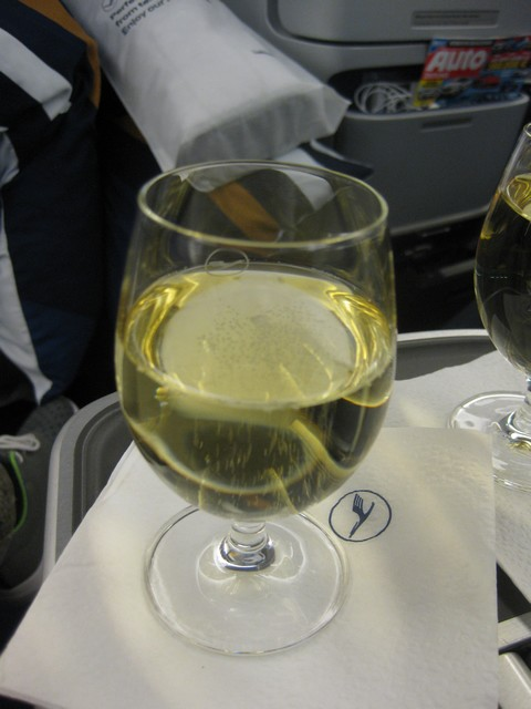 Pre-Departure Drink Business-Class / LH778 FRA-SIN