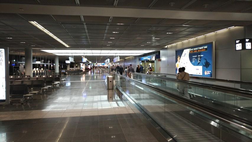 Terminal Z Frankfurt International / LH778 FRA-SIN