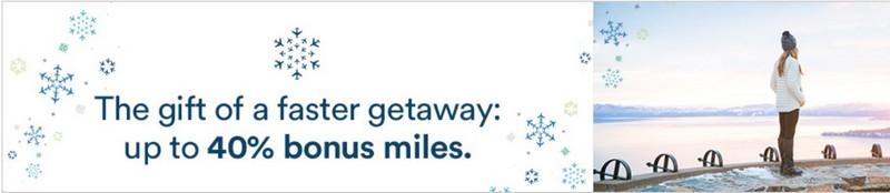 40% Bonus beim Alaska Airlines Meilenkauf bis 23.12.2019