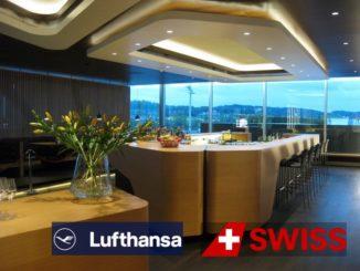 Swiss First Class Lounge - Logo