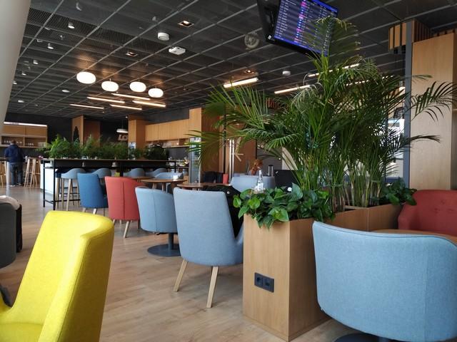 Senator / Non-Schengen Star Gold und Business-Class Lounge / LO3 WAW-ORD