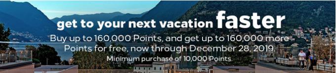 Doppelte Punkte beim Hilton Honors Punktekauf bis 28.12.2019