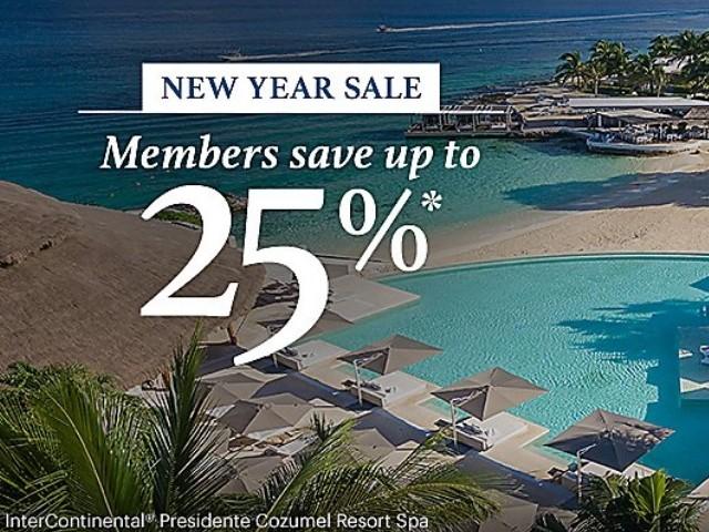 IHG Neujahrs Sale 2020 für den amerikanischen Kontinent