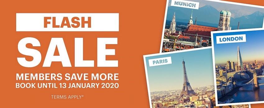 IHG Neujahrs Sale 2020 für Europa