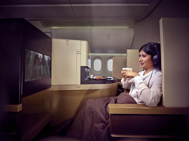 Etihad Airways Business-Class