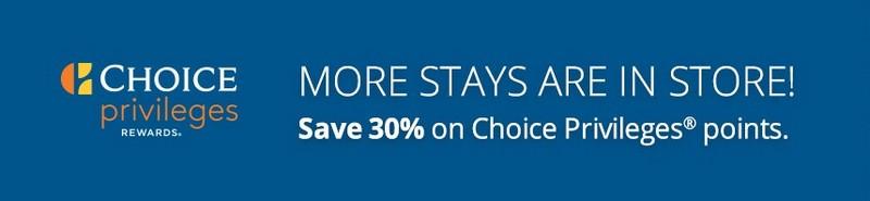 Ermäßigung von 30% beim Kauf Choice Punkten bis 04.02.2020