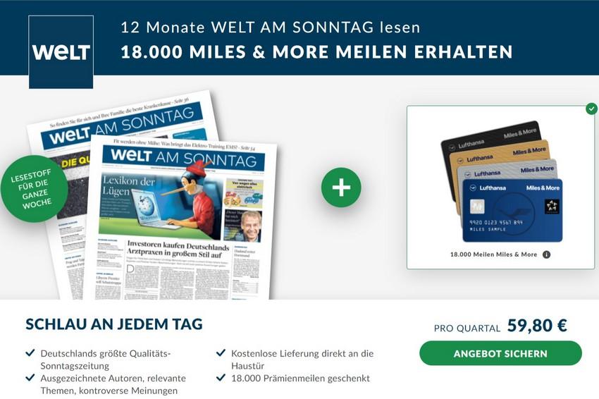 """Meilensammeln mit """"Der Welt"""" im Januar 2020"""