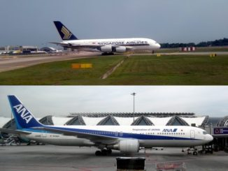 Joint Venture zwischen Singapore Airlines und All Nippon Airways