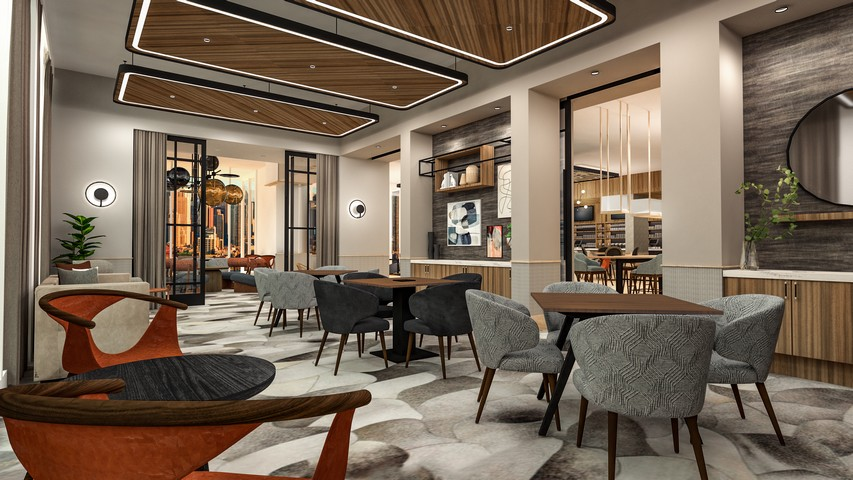Lobby- / Meetingbereich in einem Tempo by Hilton Hotel
