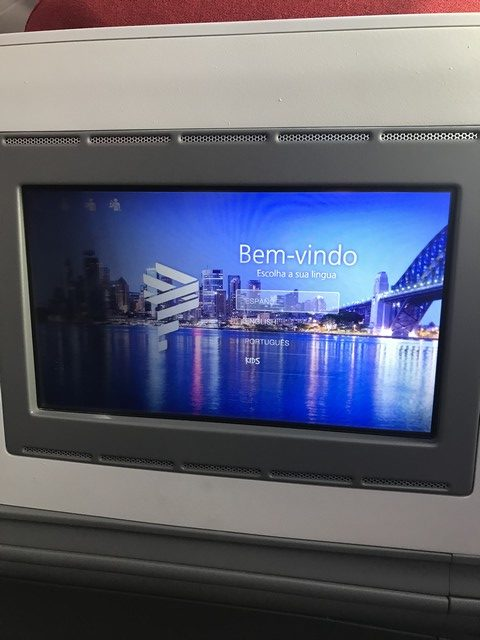 Monitor in LATAM Business-Class