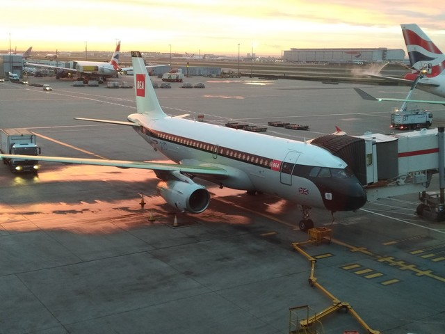 British Airways Airbus A319 (BEA Retro Livery)
