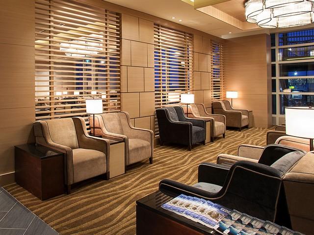 Plaza Premium Lounge in Vancouver (international Departures)