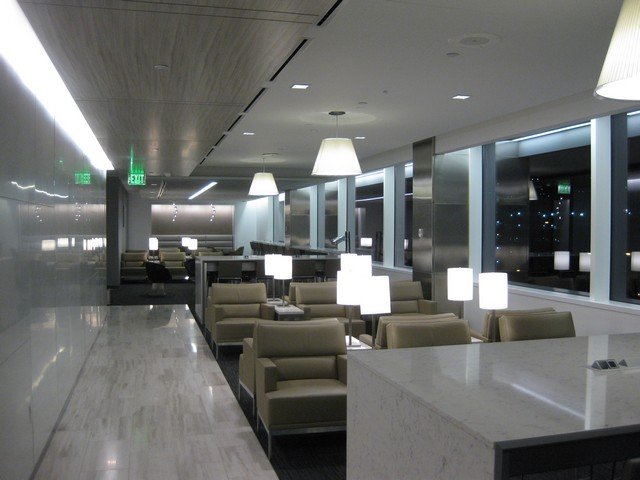 United Airlines Club in Seattle Tacoma
