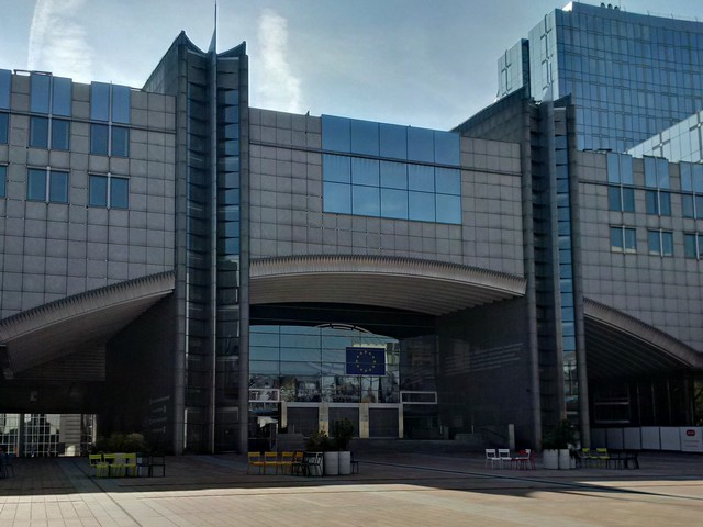 EU Parlament in Brüssel