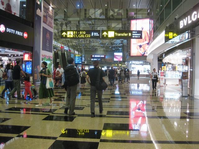 Singapore Terminal 3 / SQ356 SIN-MXP
