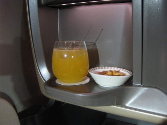 Aperitif Business-Class / SQ356 SIN-MXP