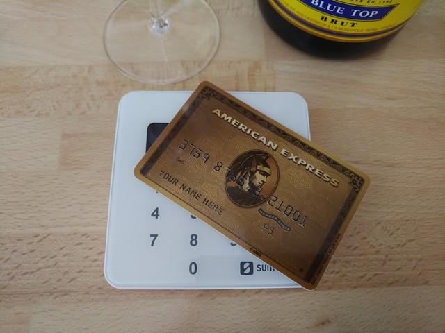 Goldene American Express aus Metall auch für Deutschland?