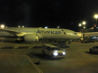 American Airlines Boeing 787-8 in Dallas Fort Worth