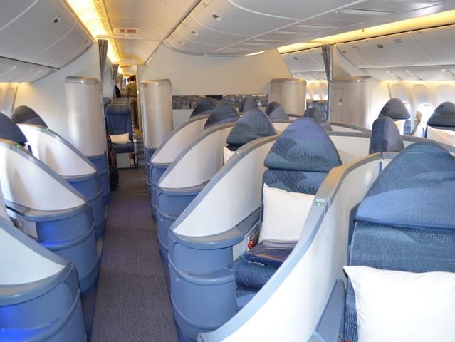 AC Busiess-Class (Boeing 777-300ER)