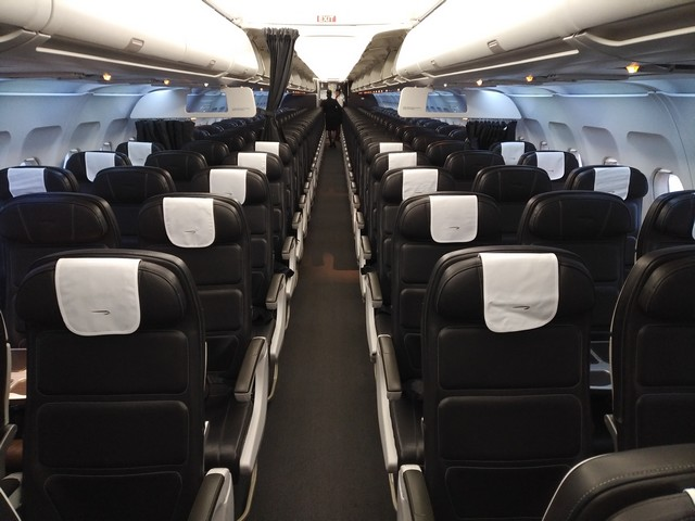 BA Business / Economy-Class (Airbus A319)