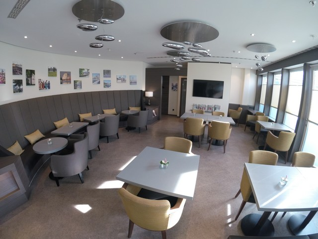 Club Lounge im Sheraton Düsseldorf Airport