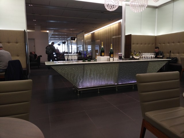 British Airways First Class Lounge / BA9 LHR-BKK