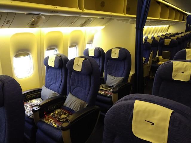 Premium-Economy-Class Sitz / BA9 LHR-BKK