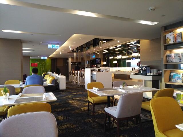 Club Lounge im Novotel Taipei Taoyuan Airport