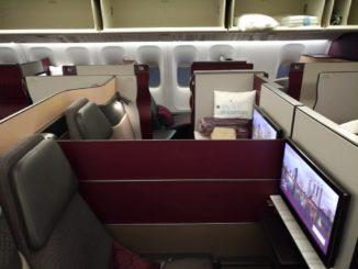 QR QSuites Business-Class (Boeing 777-300)